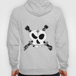 Skull and Cross-drones Hoody