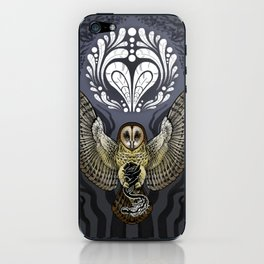 Owl Deck: Ace of Hearts iPhone Skin