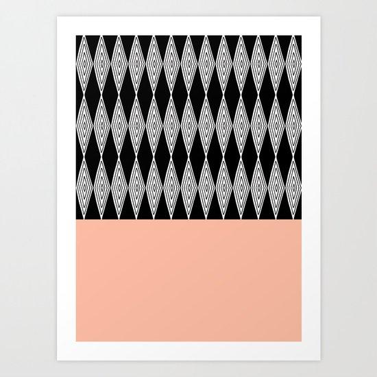 Goose eye 1 Art Print
