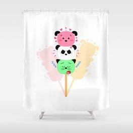 Too Kawaii To Eat! Shower Curtain