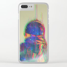 The Space Beyond - Astronaut Clear iPhone Case