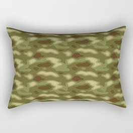 Camo pattern Rectangular Pillow