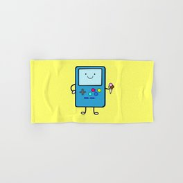 Ice cream lover video game Hand & Bath Towel