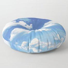 Blue Skies Floor Pillow