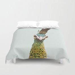Peacockin' 2 Duvet Cover