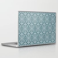 damask Laptop & iPad Skins featuring Damask by Xiao Twins