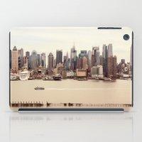 nyc iPad Cases featuring NYC by Enkel Dika