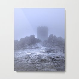 The Cold Tower Of Mist Metal Print