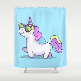 Fabulous Unicorn Shower Curtain