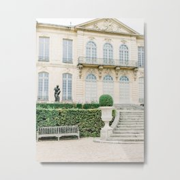 The Rodin Museum, Paris, France | French Château in Paris | Fine Art Travel Photography Metal Print