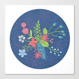 Modern Florals Canvas Print