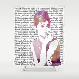 My Audrey Shower Curtain