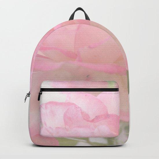 Gentleness - Soft Pink Rose #1 #decor #art #society6 Backpack