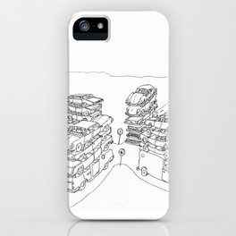 we are at a crossroads iPhone Case