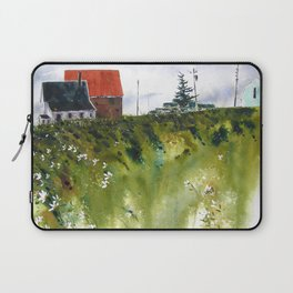 houses at the Cap Laptop Sleeve