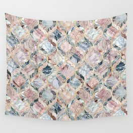Marble Moroccan Tile Pattern Wall Tapestry