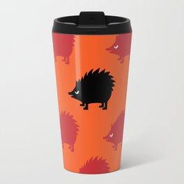 Angry Animals: hedgehog Travel Mug