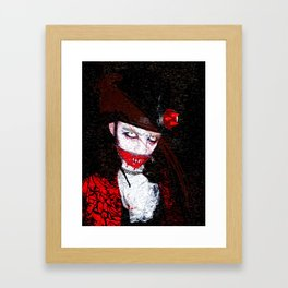 The King Arfaur Cosplay (Original Character) Framed Art Print