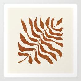 minimal plant 8 Art Print