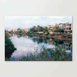 Balona Canal Canvas Print