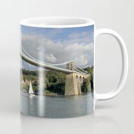 Menai Bridge Yacht Coffee Mug