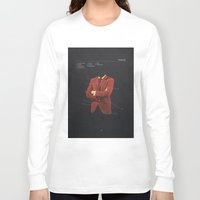 depression Long Sleeve T-shirts featuring Manhood by Frank Moth