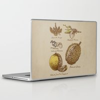 kubrick Laptop & iPad Skins featuring Steampunk Fruit  by Eric Fan