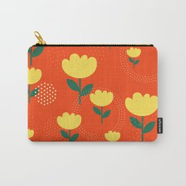 Tropico Floral Carry-All Pouch