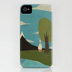 Yeti hearts bunny Slim Case iPhone (4, 4s)
