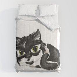 Naughty Cora - White Comforters