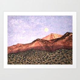 Moab Moon Art Print