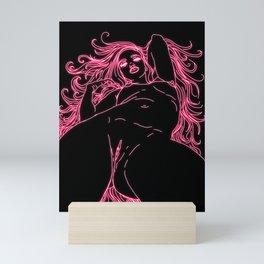 Neon Diabla Mini Art Print