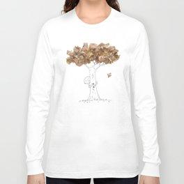 Pencil shavings tree Long Sleeve T-shirt