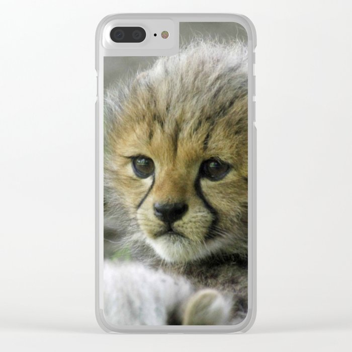 Cheetah20150908 Clear iPhone Case