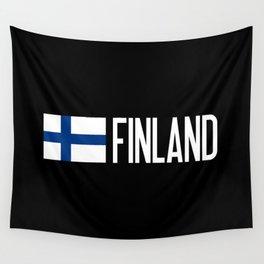 Finland: Finnish Flag & Finland Wall Tapestry