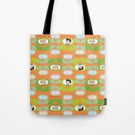 mabo & jimmy garden orange 2 Tote Bag