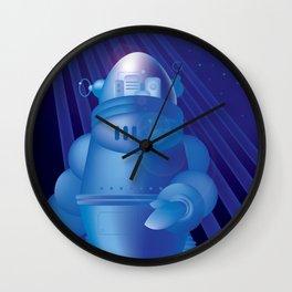 Space Roboto Wall Clock
