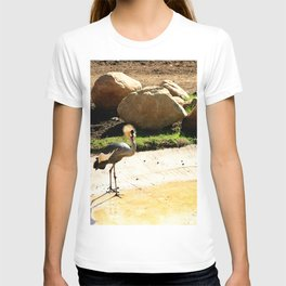 East African Crowned Crane T-shirt