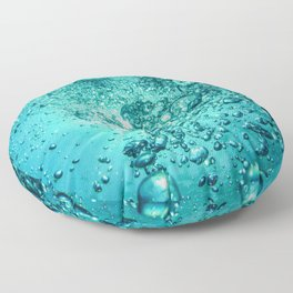 Thirsty Sprite Bubble Floor Pillow