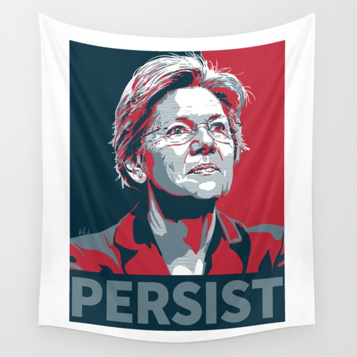 #Persist Wall Tapestry