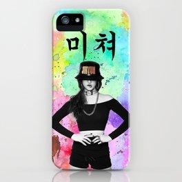 CRAZY 4 iPhone Case