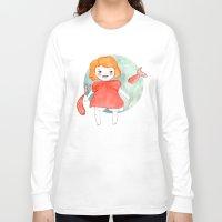 ponyo Long Sleeve T-shirts featuring Ponyo by munieca