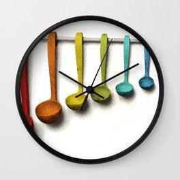 Xylospoons Wall Clock