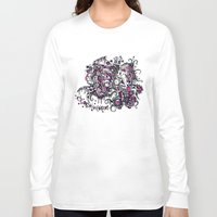 clockwork Long Sleeve T-shirts featuring Clockwork by Voodoodle