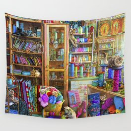 Kitty Heaven Wall Tapestry