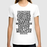 bride T-shirts featuring Princess Bride by Leah Flores