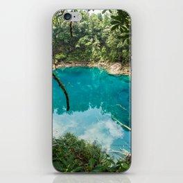 Cenote de Laguna Brava iPhone Skin