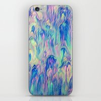 northern lights iPhone & iPod Skins featuring Northern Lights by Meg O Studio