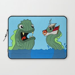 The Hungry Seamonster Laptop Sleeve