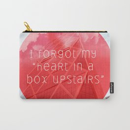 heart in a box upstairs Carry-All Pouch